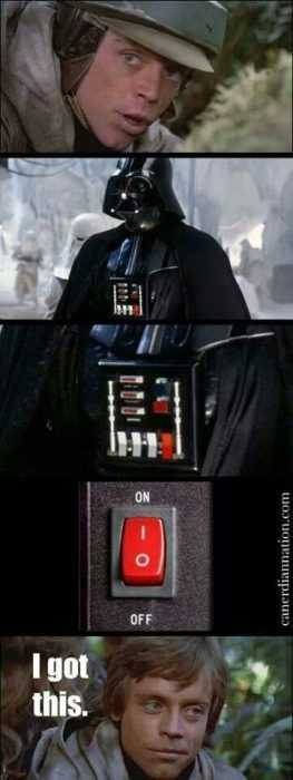 Funny Star Wars Memes - vader's buttons