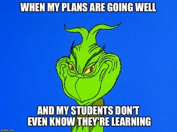 hilarious Funny Teacher Memes - cunning plan
