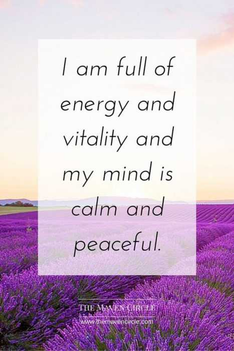 Positive Affirmations Quotes - Energy
