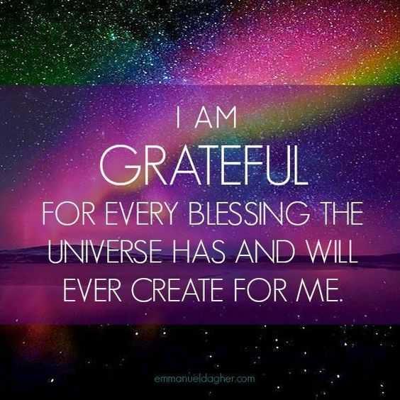 Positive Affirmation - Gratefulness