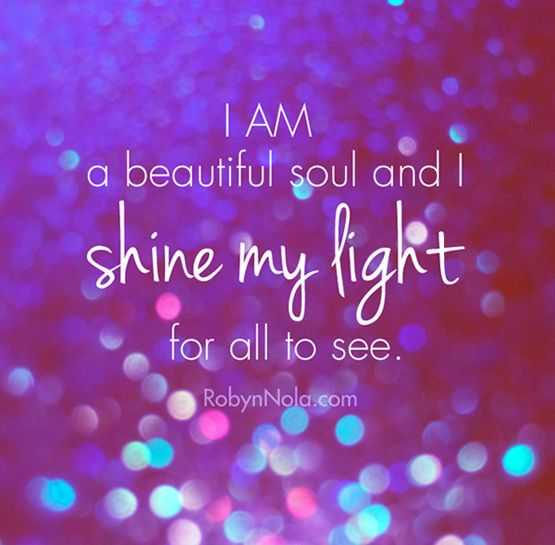 Positive Affirmations Quote - Beautiful Soul