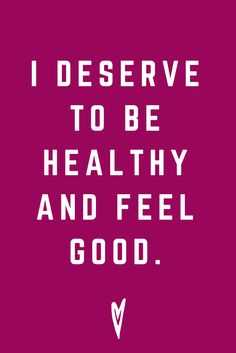 Positive Affirmations Quote - Healthy