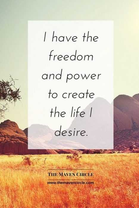 Positive Affirmations Quotes - Freedom