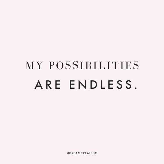 Positive Affirmation &Amp; Quotes - Possibilities