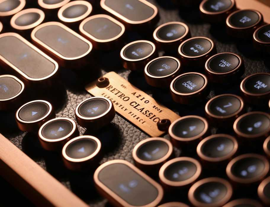 Azio Keyboard - Vintage Mechanical Keyboard