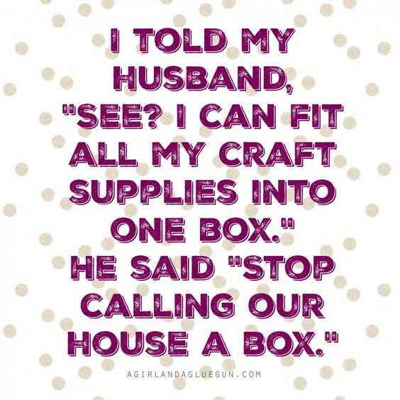 funny Crafting Memes - craft supplies