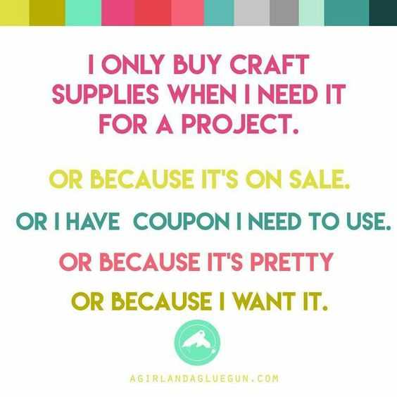 funny Crafting Memes - supplies