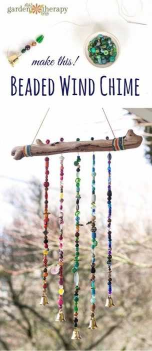 DIY Spring Project - wind chime