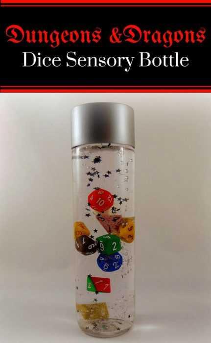 Sensory Bottles D &Amp; D