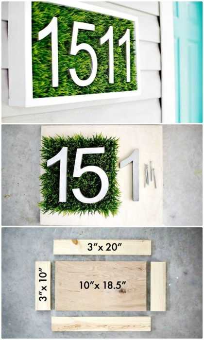 Easy DIY Spring Project - Live House number Display