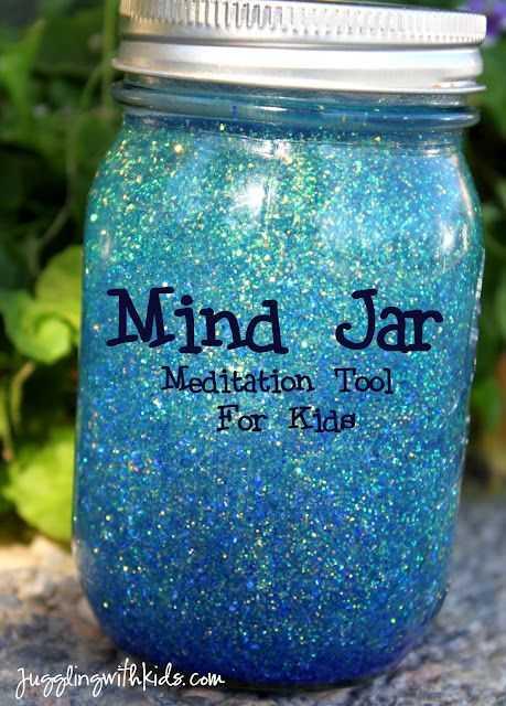 Sensory Bottles Mind Jar