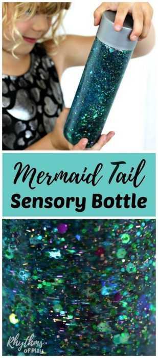 Sensory Bottles Mermaid
