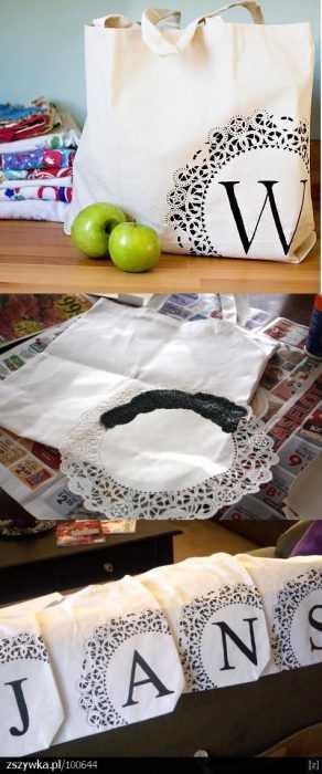 Monogram Tote Bags Diy
