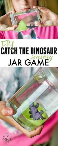 Sensory Bottles - Dinosaur