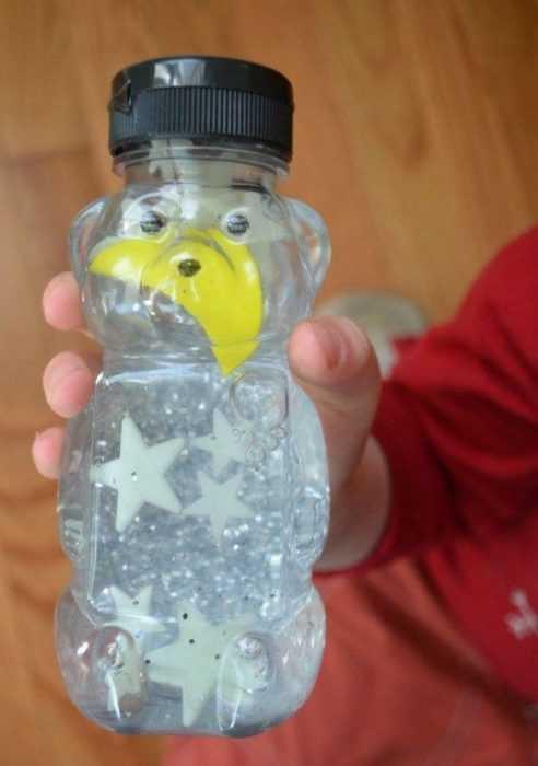 Sensory Bottles Honey Jar