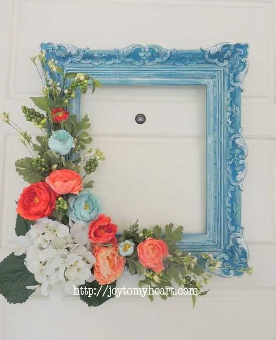 Charming DIY Spring Projects - picture frame