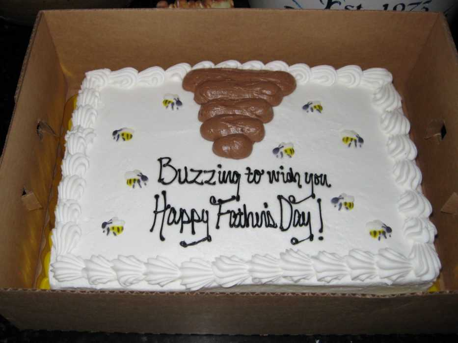 Funny cake fail - not a beehive