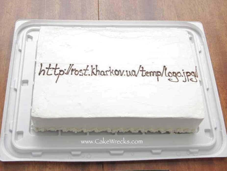 Funny cake fail - oh no