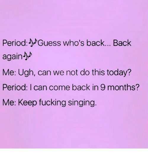 Short Funny Quotes - period