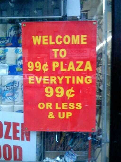 Funny Business Signs - 99Cents And Up