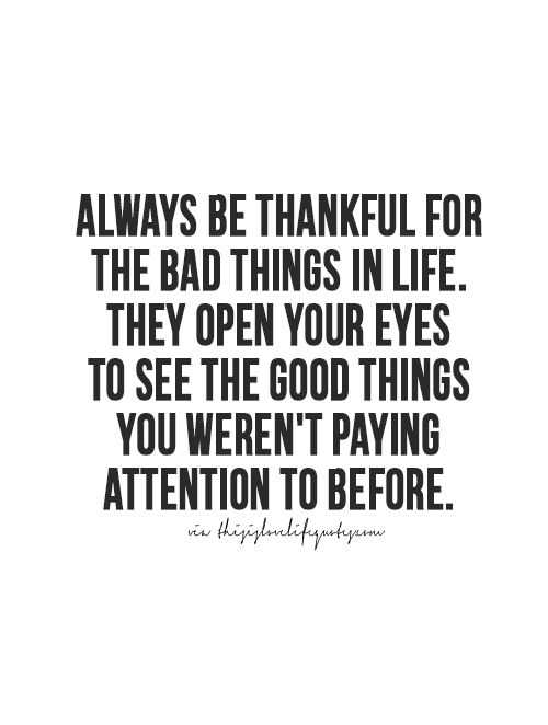 Soulful quotes - thankfulness