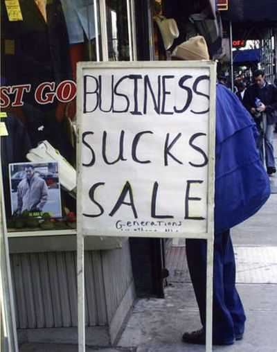 Funny Business Signs - Truth