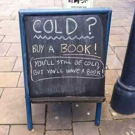 Funny Store Signs - Buy A Book