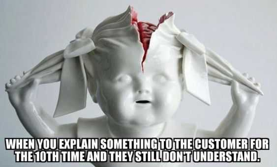 Funny Retail Worker Images - 10th time