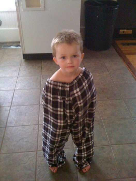 Funny Kid Pictures - pajama man