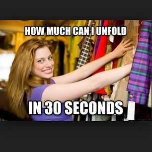 Funny Retail Worker Memes - customer and clothes