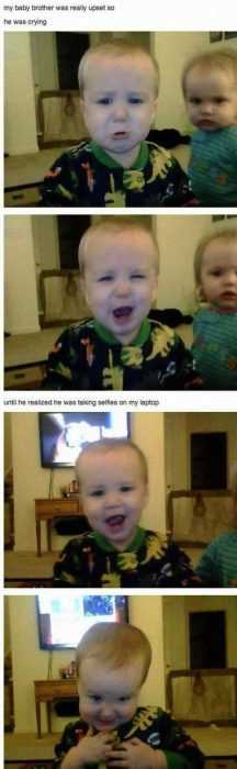 Funny Kid Pictures - spying