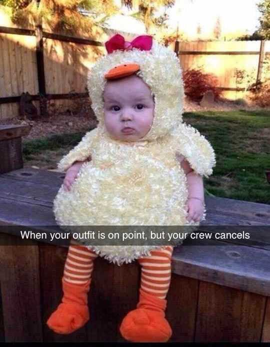 Funny Kid Pictures - lone chick