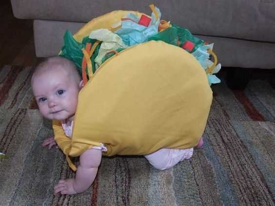Funny Kid Picture - taco kid