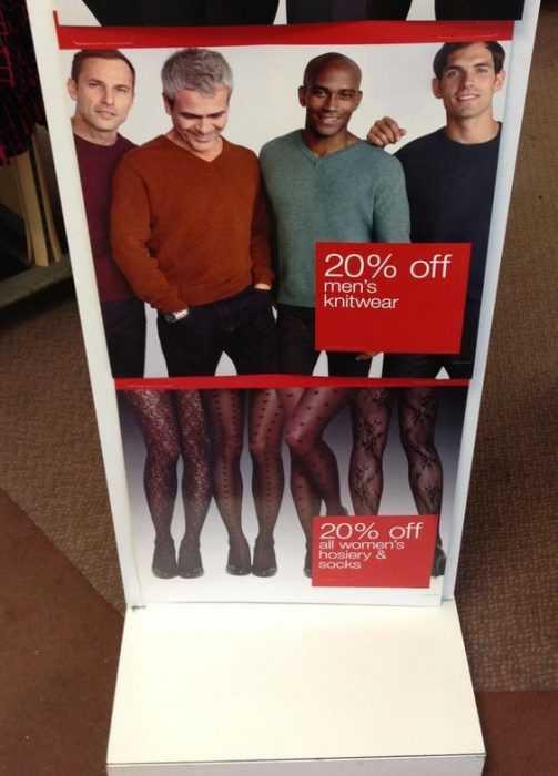 funny sign fails - kinky legs