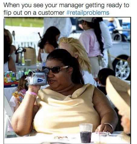 Funny Retail Worker Pictures - manager cam