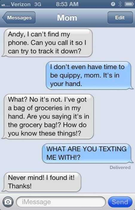 Hilarious Funny Pictures - Mom Jokes