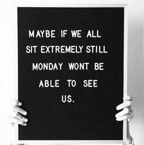 Short Snappy Funny Quotes - Monday