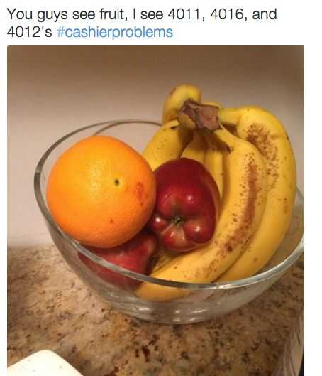 Funny Retail work images - fruit