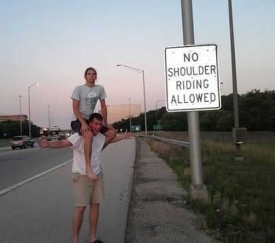 funny sign fail - very rebellious