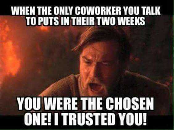 Funny Retail Worker Images - chosen one