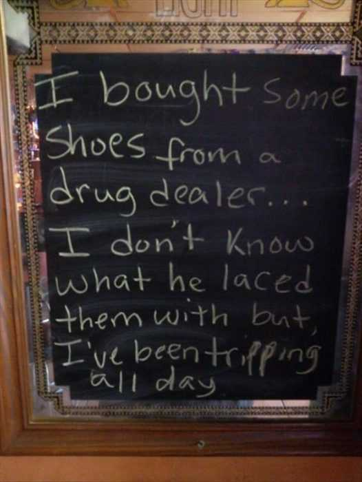 Funny Business Signs - Shoes
