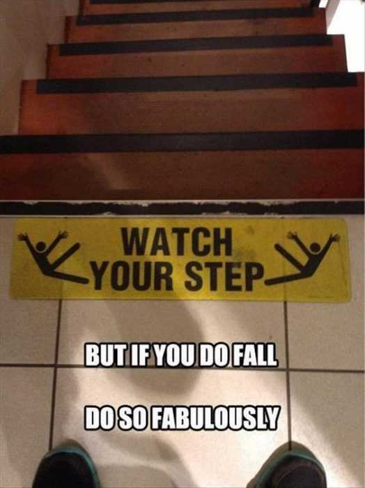 Funny Business Signs - Warnings
