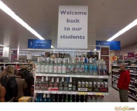 Funny Business Signs - Student Marketing