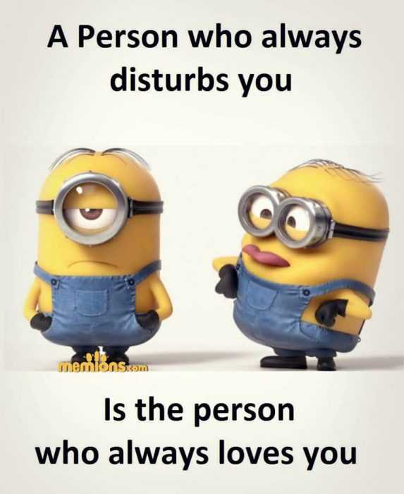 Minion Wisdom Quotes - Disturbed