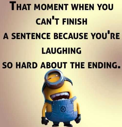 Sarcastic Minion Quotes - Finish A Sentence