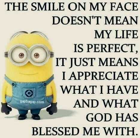 Sarcastic Minion Quotes - Smile