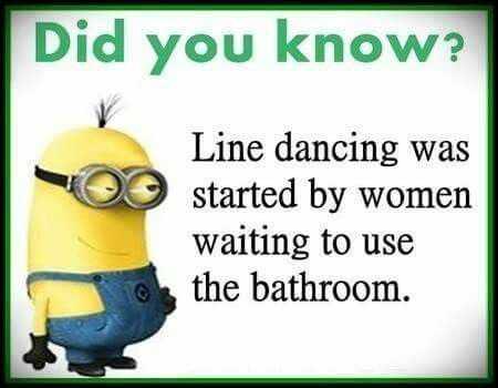 Sarcastic Minion Quotes - Line Dancing