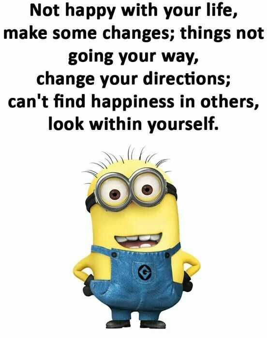 Minion Wisdom Quotes - Changes