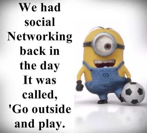 Sarcastic Minion Quotes - Social Networking