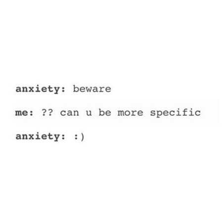 funny social share quotes - anxiety